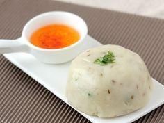 Gujarati Khichu Recipe with Step By Step Photos - Rice Flour Khichu