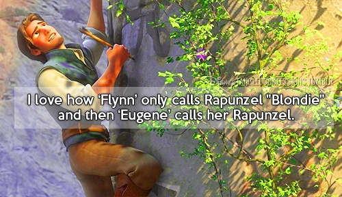 I did not even realize this... I MUST WATCH TANGLED AGAIN! (Of course I'll look for any excuse to watch Tangled again)