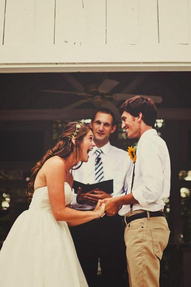 adorable thrilled bride wedding photos