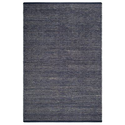 Fab Habitat Zen Waterloo Hand-Woven Blue Area Rug Rug Size: 4′ x 6′