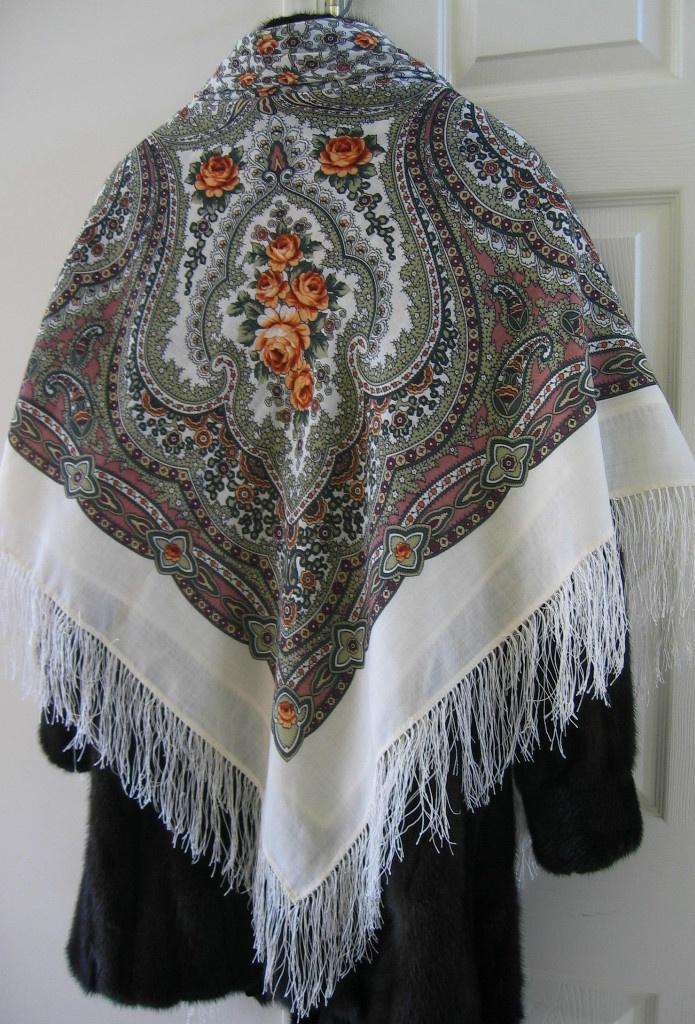 classic russian shawl