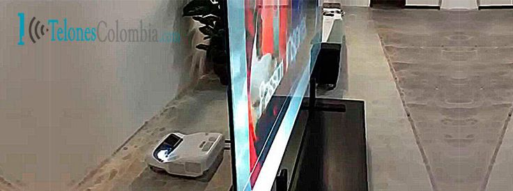 Que es una pantalla de retroproyección o traslúcida