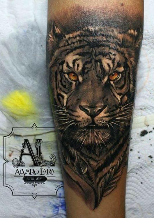 Tatuaje De Tigre Tatuajes Para Hombres Pinterest