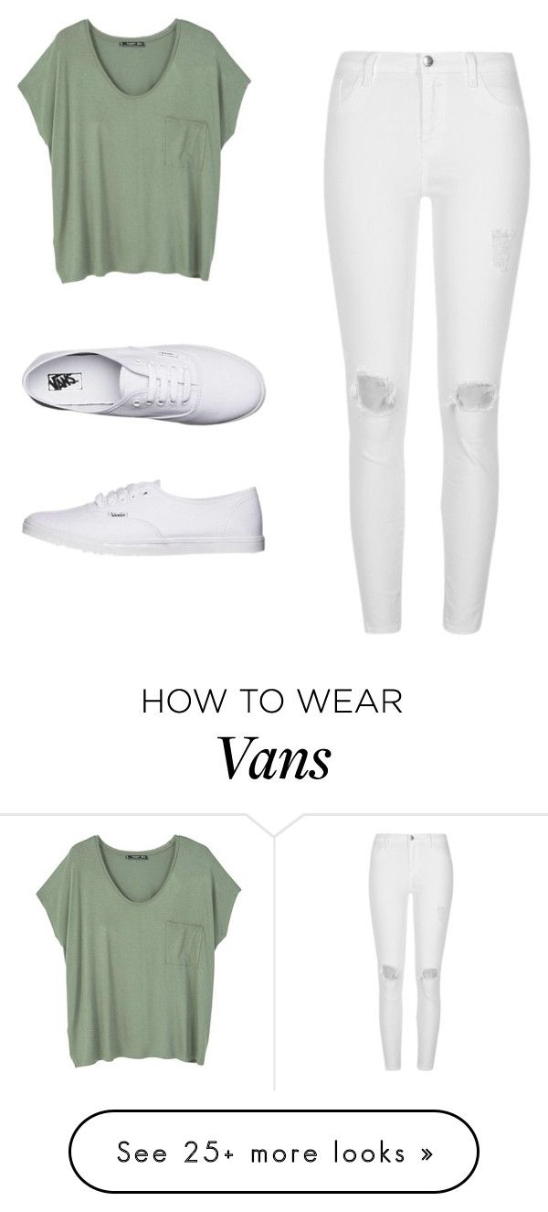 """""""wats up!"""" by may-boo on Polyvore featuring MANGO, River Island and Vans"""
