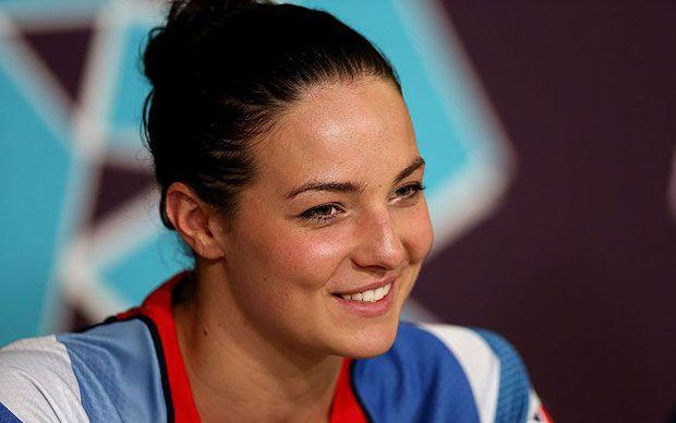 Keri-Anne Payne was born to swim the open water marathon