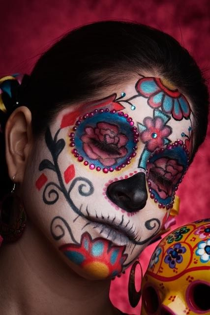 La Catrina / Sugar Skull Make Up | Halloween | Day of the dead by Felicia Portfolio