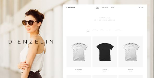 D'enzelin - HTML E-Commerce Website Template - Fashion Retail