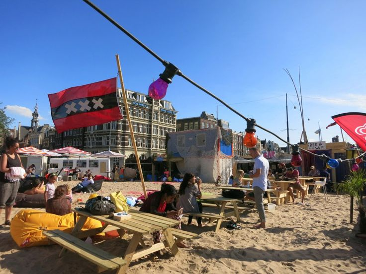 SIX COOL CITY BEACHES IN AMSTERDAM - Dig your toes into the sand, look out over the water, sip a cold drink and listen to some summertime tunes. - awesomeamsterdam.com