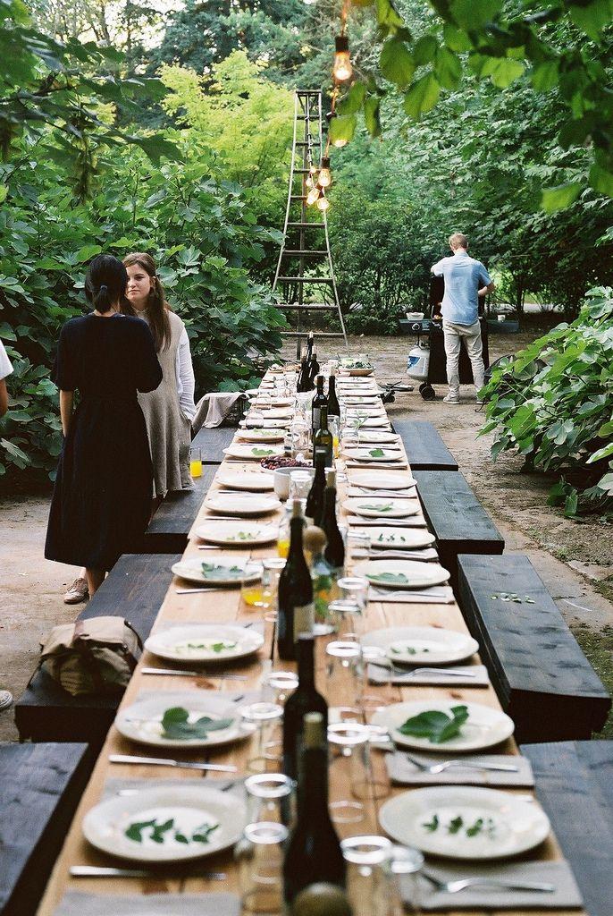 venetians:  kinfolk dinner (by half girl)