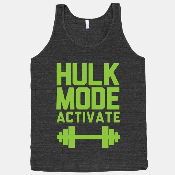 awesome geeky workout shirts by Etsy seller Activate Apparel