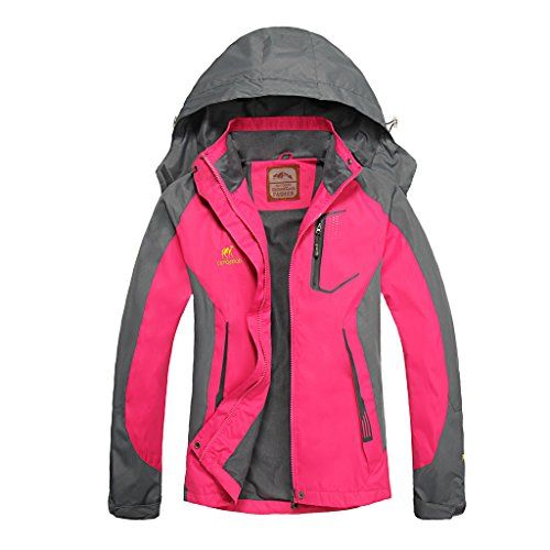 Diamond Candy Hooded Water-proof Jacket Softshell Gals Sportswear