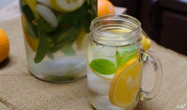 Лимонная вода для похудения - пошаговый рецепт с фото на Повар.ру