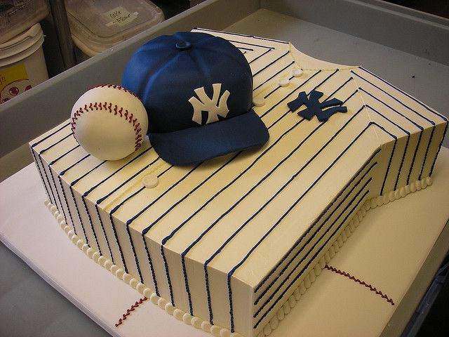 Christian's Yankees Grooms Cake