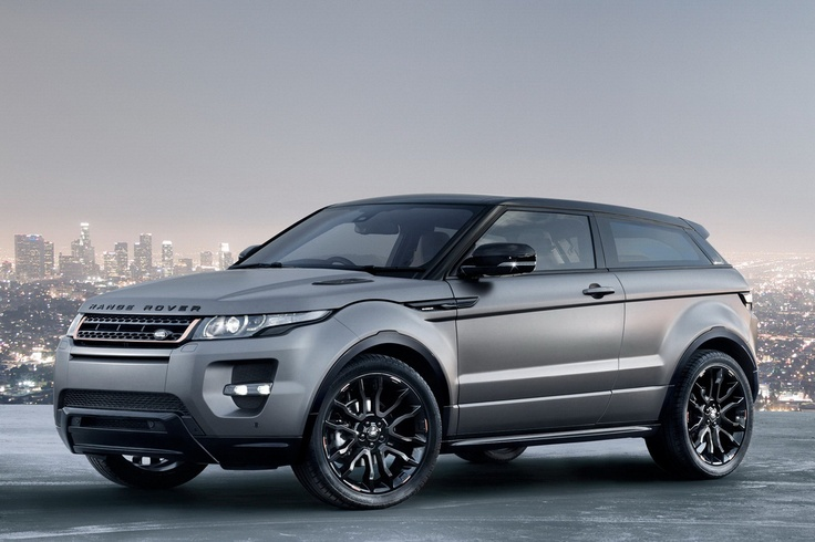 2012 Land Rover Range Rover Evoque Victoria Beckham Special Edition