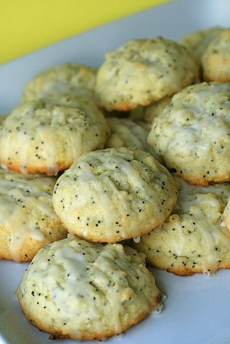 Lemon Poppy Seed Cookies-