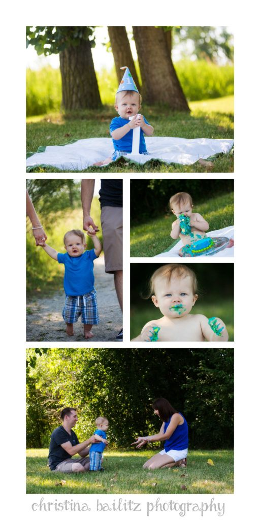 Orland park il first birthday photography