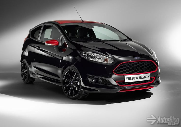 Ford Fiesta Zetec S Black and Red Edition | AUTOS | Blog