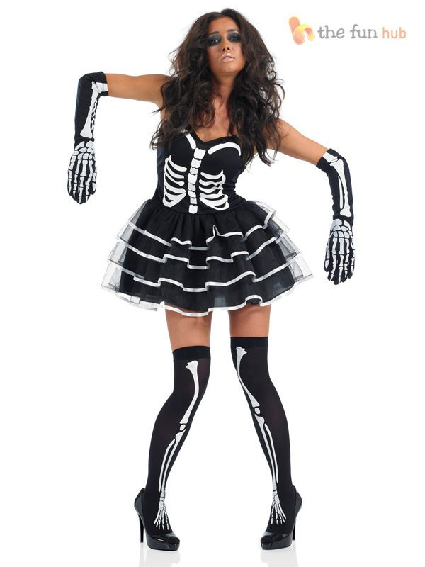 Pirate Nails Skull Crossbones Fingernail Fancy Dress Halloween Costume Accessory