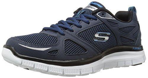 Oferta: 64.95€ Dto: -34%. Comprar Ofertas de Skechers Flex Advantage- First Team - Zapatillas para hombre, color azul, talla 44 barato. ¡Mira las ofertas!