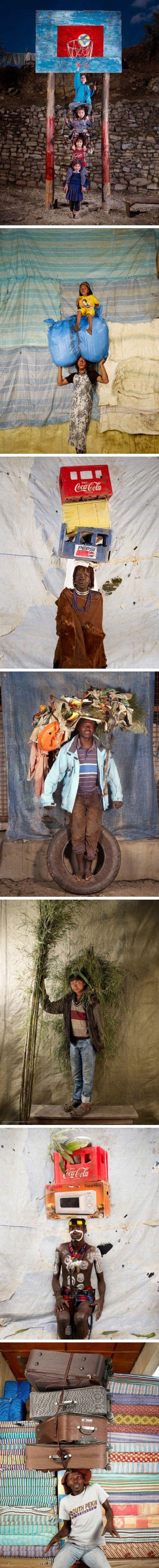 Dünya İnsanı ve Onların Taşıdığı Ağırlıklar www.4finite.com