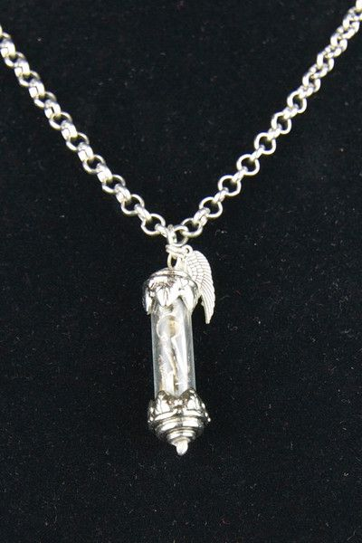 Wing Vial Necklace