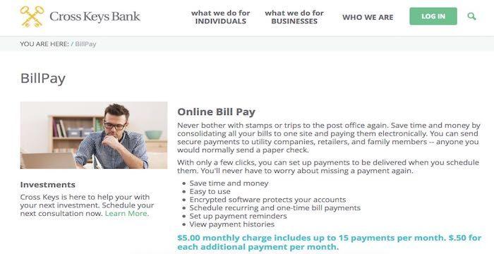 Cross Keys Bank bill pay