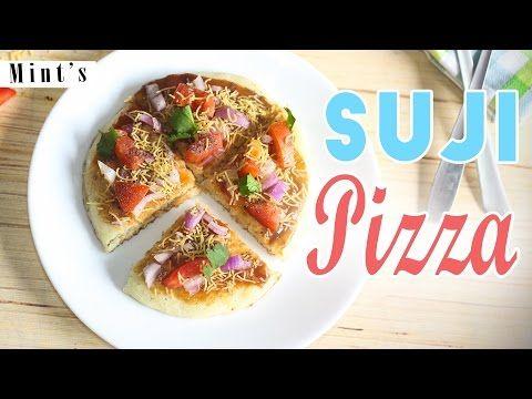Indian Style Suji Pizza Recipe - Pizza Recipes In Hindi - Breakfast Recipes - Snacks Recipes-Ep-182 - YouTube