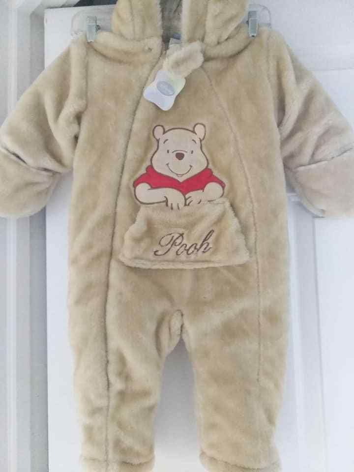 48d16c266 Disney Winnie The Pooh Bear Snowsuit Winter Bunting 24 Months Hood  Heavyweight #Disney #Snowsuit #Everyday
