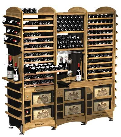Wine storage. Www.eurocave.co.uk