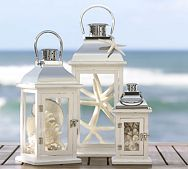 lanternsDecor, Potterybarn, Beach Home, Beach House, Beach Theme, Lanterns, Beach Wedding, Beachhouse, Pottery Barns