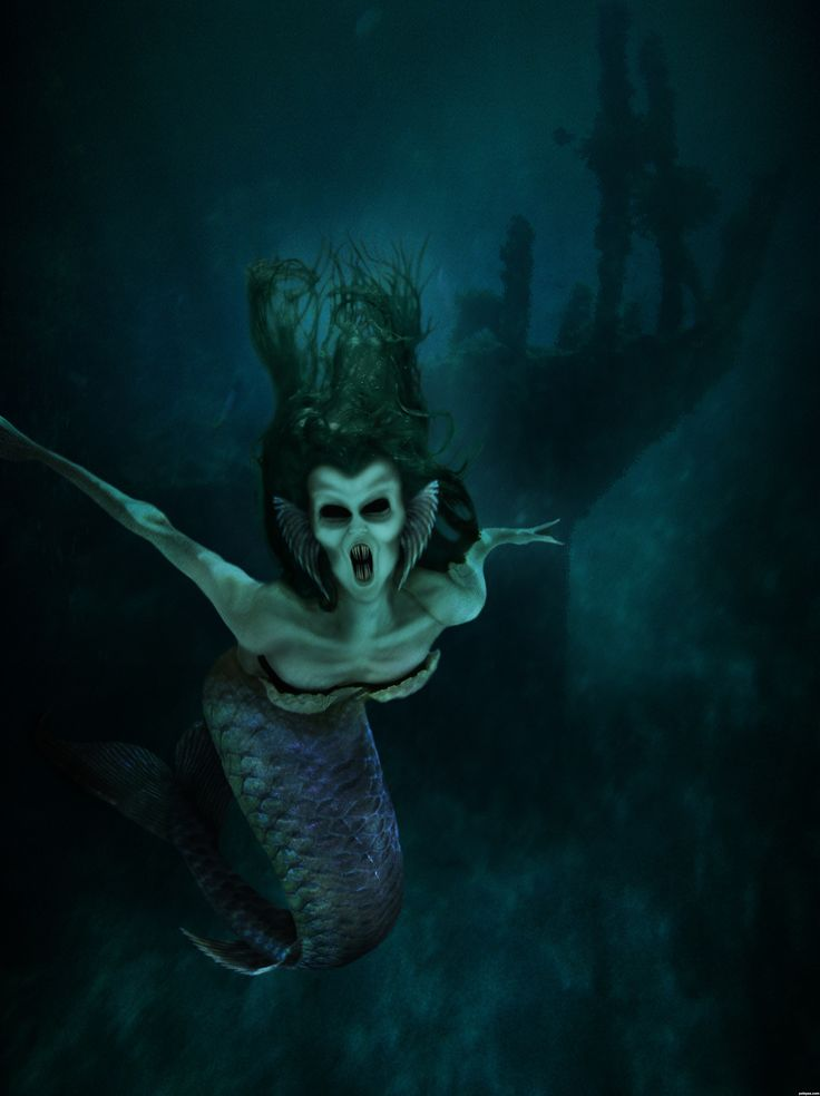 Siren | Evil Siren - created by jadedink | Mer-World ...