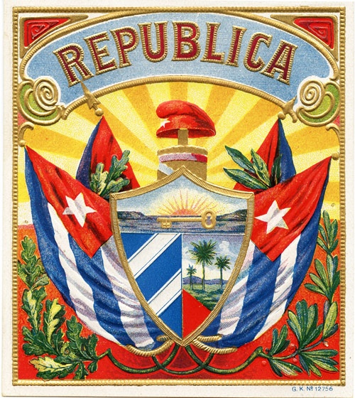 Cuban Cigar Label - Some destinations remain for good in ours memory, Cuba is…