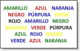 juegos mentales .identifica los colores sin equivocarte