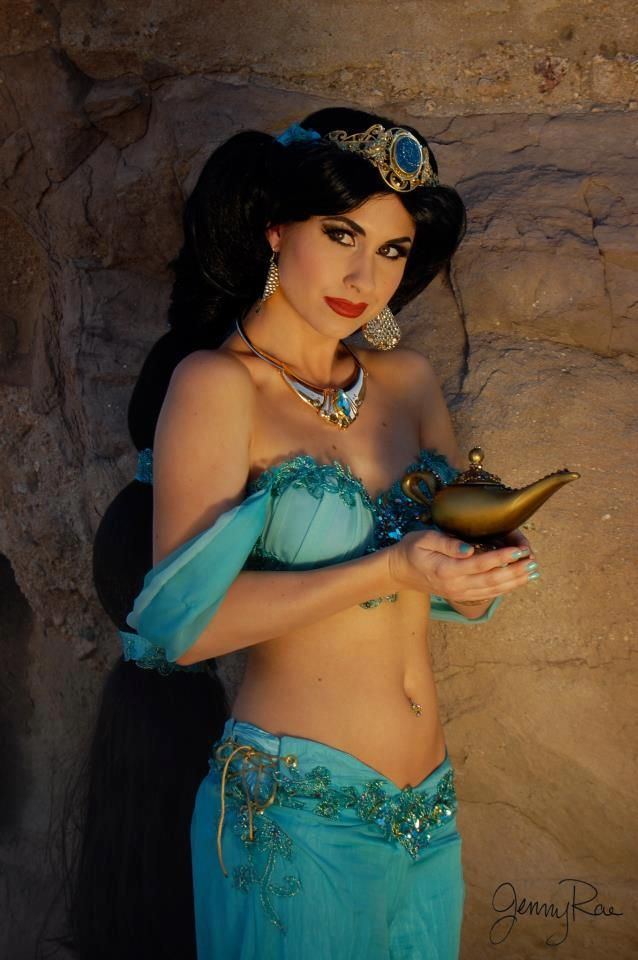 Traci Hines [as Jasmine] (Cosplay by TraciHinesMusic @Facebook) #Aladdin