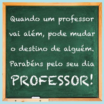 Mensagem do Dia do Professor :: CÂMARA LAJINHA