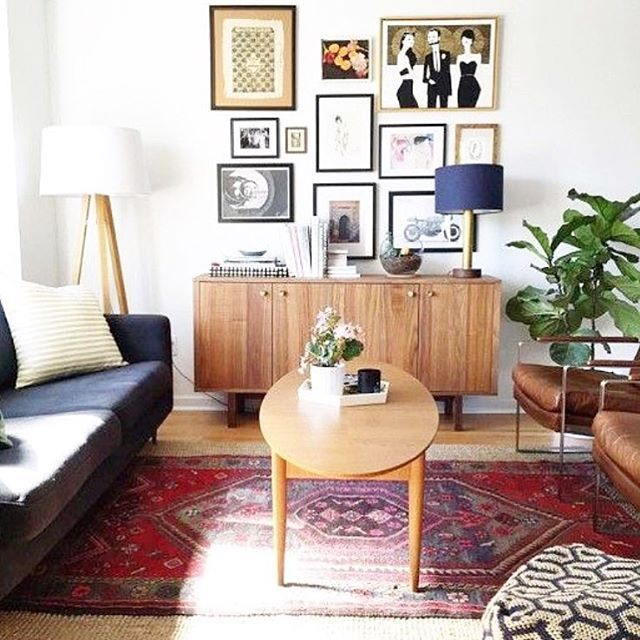 Loving This Living Room Set Up From @colormequirky. It Fits Every  #simplystyleyourspace Weu0027ve Done So Far. Plant, Gallery Wall, Coffee Table,  Shelf. Part 58