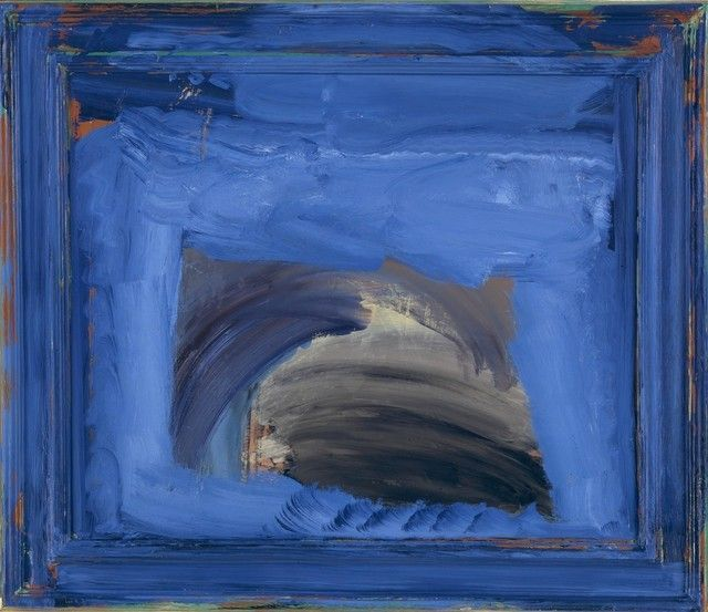 Howard Hodgkin, Thunder (2000-2002), via Artsy.net