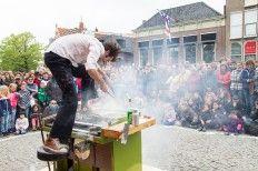 De Gillende Keukenprins Op festival der aa 4,5,6 juli 2014 www.festivalderaa.nl