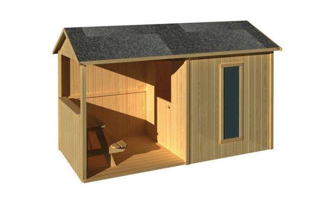 Cabane pour enfant en palettes 6m² cabane enfant palette ~ Cabane Palette Bois