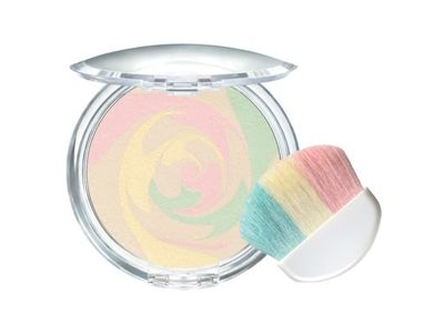 Physicians Formula Mineral Wear Correcting Powder, this stuff is AMAZING!! It completely covers all the imperfections on my face I use it over my liquid makeup and it makes it a smooth airbrushed finish! Love this product!