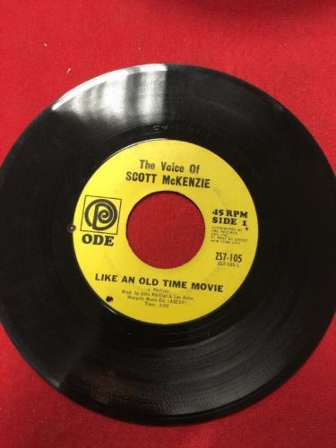 SCOTT McKENZIE 45 Like An Old Time Movie / Whats The Difference-Chapter II - NM