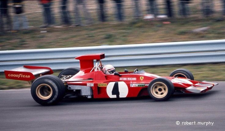 1973 GP USA (Arturo Merzario) Ferrari 312B3