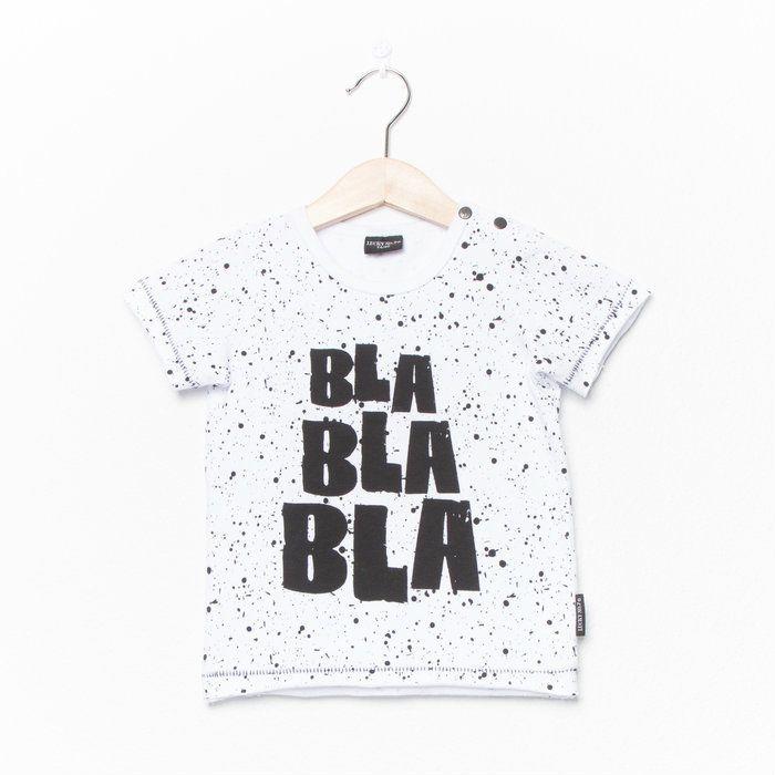 Lucky No. 7 Bla Bla Bla Tee - A Little Bit of Cheek