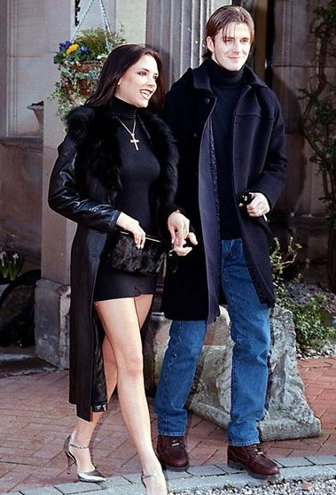 A Very Young Victoria and David Beckham