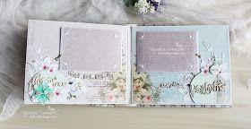 """Привет, мои дорогие)))! Сегодня я приглашаю вас рассмотреть мой новый альбом - Свадебный альбом из коллекции """"Цветы Прованса"""" от FLEUR d..."""