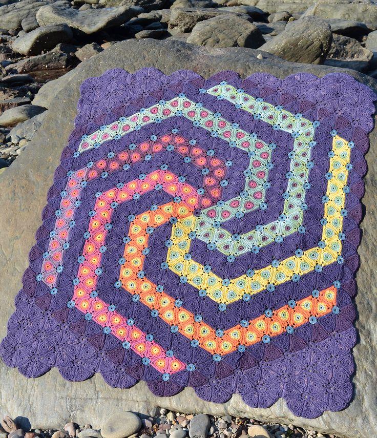 Ravelry: Spyro Crochet Blanket pattern by Amanda Perkins