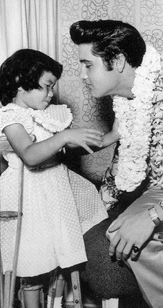 The King who cared~giving his time, talent & money to support various charitable causes.