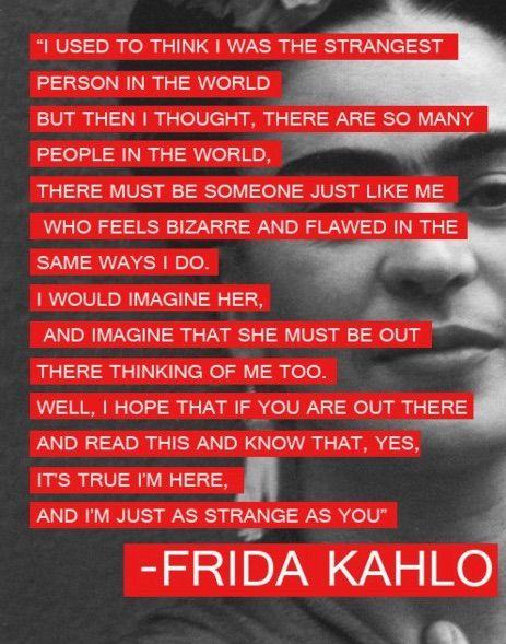 Frida Kahlo frases celebres