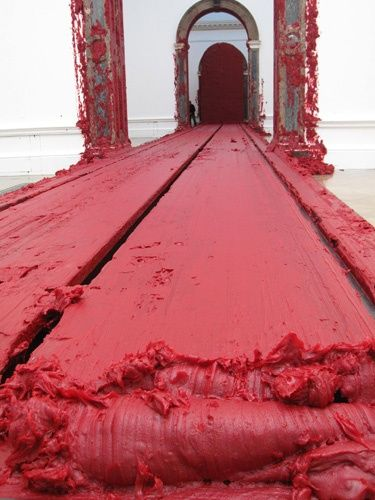 Anish Kapoor. Seen this work in person...AMAZING EXPERIENCE