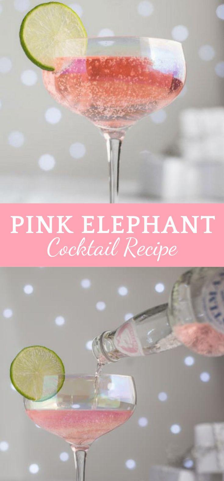 ROSA ELEFANT COCKTAIL REZEPT #Cocktail #Drink